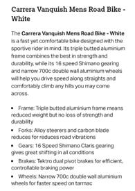 Carrera vanquish