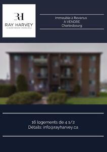 Immeuble à Revenus À VENDRE à Charlesbourg!