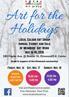 Local Colour Art Group Show and Sale