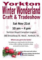 Yorkton Winter Wonderland Craft and Tradeshow