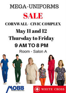 Warehouse Uniforms SALE, May 11 and 12. UP to 60% Off