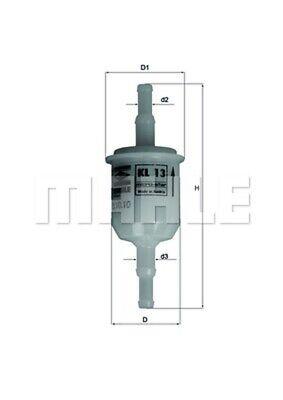 KNECHT Kraftstofffilter KL 13 OF Leitungsfilter für FIAT FORD BMW SAAB OPEL 124