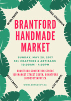 May 28th Brantford Handmade Market (VENDORS WANTED)
