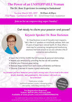 The Power of an Unstoppable Woman - Featuring Dr. Rose Backman