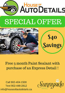 **SunnySide Mall** House of Auto Details, Professional Detailers