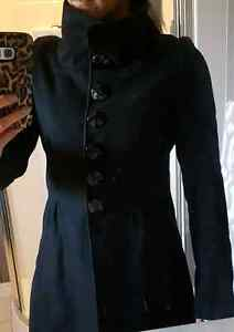 Small never worn, wool coat from le chateau size small Belleville Belleville Area image 2