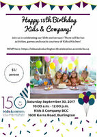 Kids and Company 15th year birthday celebration!