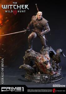 Geralt of Rivia Prime1 Statue Brand New Sealed Unopen