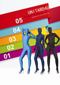 zentai catsuit (same as morphsuit) in various colours