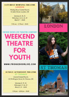 WEEKEND THEATRE FOR YOUTH (Gr. 4-10) London & St. Thomas