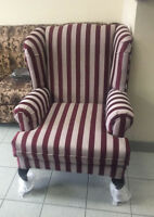 Brand New Wing Chair Made In Canada