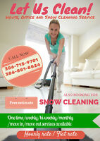Let us clean! - House, office and snow cleaning services