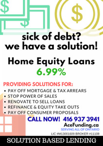 Home Equity Loans 6.99%