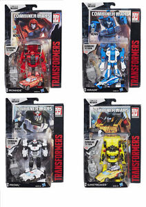 Transformers Combiner Wars Ironhide Mirage Sunstreaker Prowl