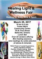 Healing Light and Wellness Fair