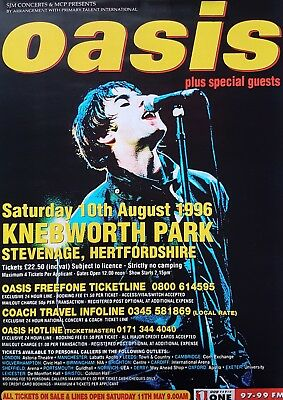 Oasis-Knebworth & Oasis Singles Print/Poster A3 Noel Liam Gallagher 2 PRINTS!!