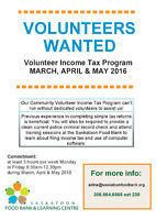 Looking for caring dedicated income tax volunteers