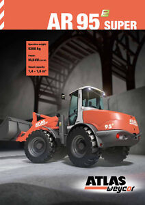 Atlas wheel loaders  New in Canada Finance available