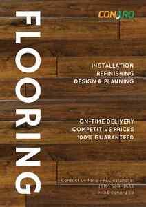 Quality Hardwood Installs/Refinishing. FREE quotes 519-569-0883 Stratford Kitchener Area image 1