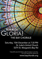 The Bay Chorale presents Vivaldi's Gloria