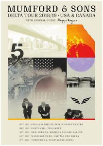 4 GA FLOOR Mumford & Sons Tickets - Toronto -  December 17th