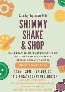 Shimmy, Shake & Shop Craft & Specialty Sale *Crafters Wanted*