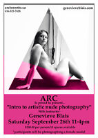 Intro to artistic nude photography with female model
