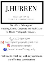 Professional Photographer - Wedding, Grad, Real Estate, Family