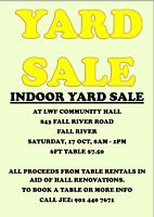 INDOOR YARD SALE