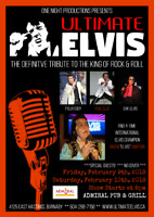 ULTIMATE ELVIS LIVE AT THE ADMIRAL