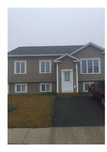 New 3 bedroom house -Kenmount Terrace -Available in