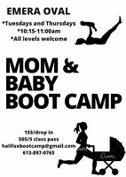 Mom and Baby Outdoor Boot Camp