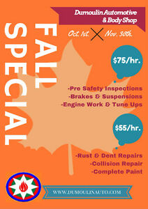 BEST RATES ON AUTO MECHANIC and BODY SHOP!