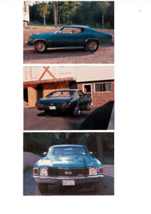 Wanted 1972 Chevelle