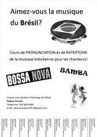Cours de chant - Musique brésilienne