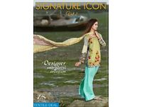 SIGNATURE ICON VOL-2 WHOLESALE EMBROIDERED PAKISTANI COLLECTION IN TEXTILEDEAL.IN