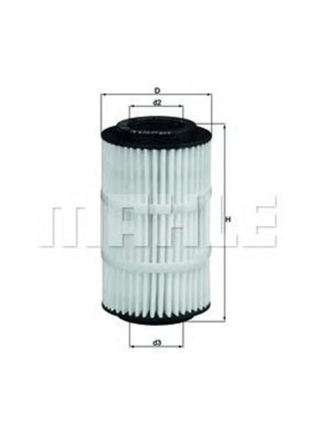 MAHLE / KNECHT Ölfilter OX 345/7D ( OX345/7D )