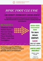 Detox & Energize with an Ion Foot Spa