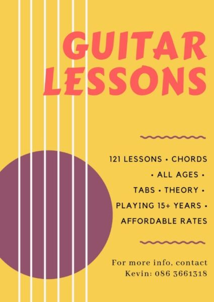 121 Guitar lessons - be a rockstar! | Cork | Gumtree Classifieds ...