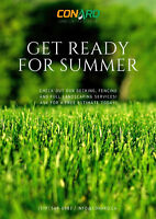 Get ready for summer: fencing, decking and landscaping services