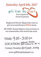 Gift From the Heart- FREE Dental Hygiene Care
