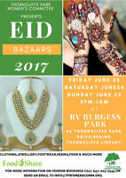 Thorncliffe Park Women's Committees Eid Bazaars
