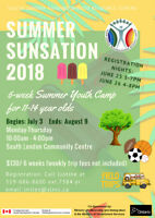 Summer Sunsation Camp!