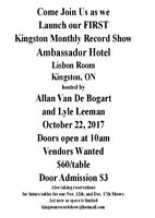 Kingston Monthly Record Show