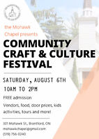 Seeking vendors for August 6th event in Brantford
