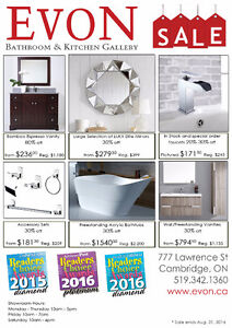 Evon Bathroom & Kitchen Gallery Clearance SALE UP TO 85% OFF
