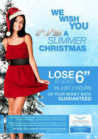 Unwrap A Slimmer You Before The Holidays!