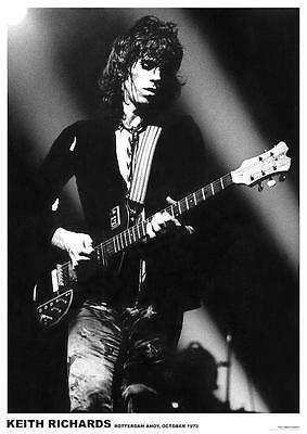 ~~ THE ROLLING STONES  {EU} KEITH RICHARDS 1976 ~ 24X33 POSTER ~~