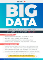 FREE DEMO : Big Data Technologies and Market Analysis: Sept 29