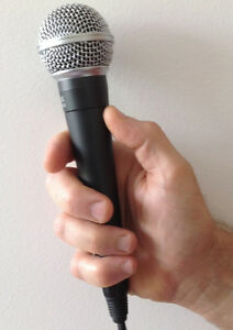 SM-58 quality mics - brand new, for HALF the cost of a Shure.